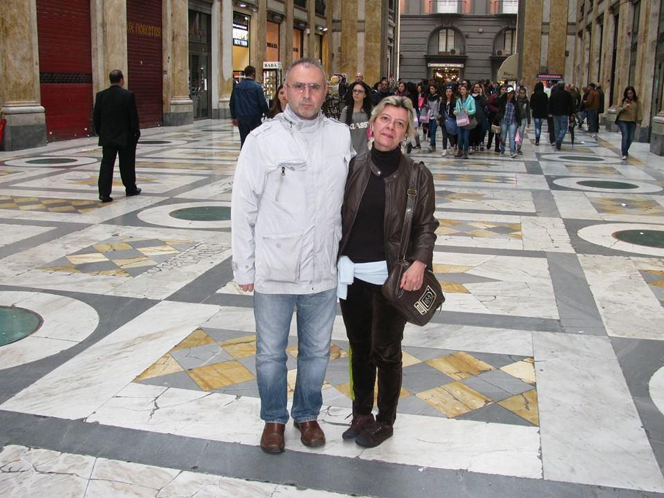 Luigi Aloisio e Patrizia Cecaro