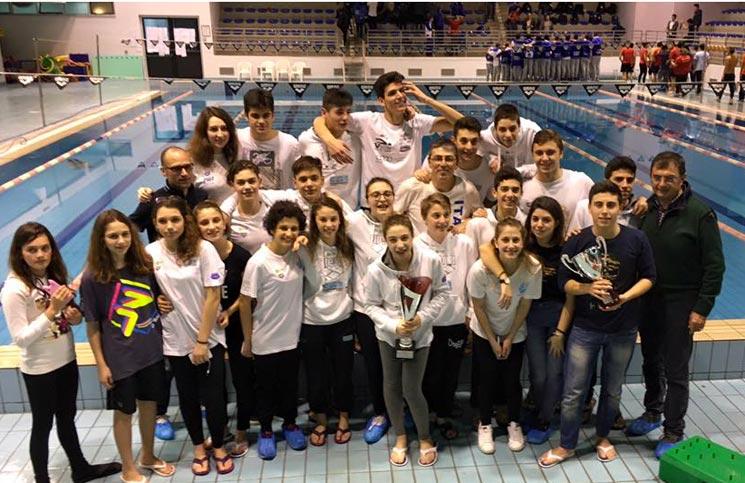 squadra calabria swim race di nuoto